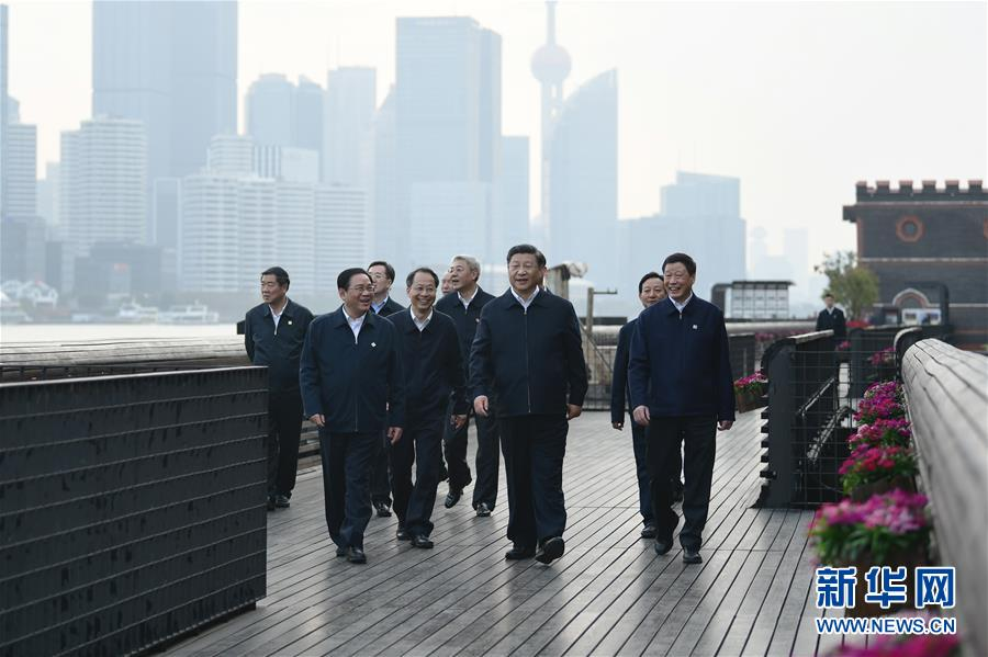 (XHDW)(4)习近平在上海考察调研